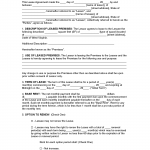 Free West Virginia Rental Lease Agreement Templates Pdf