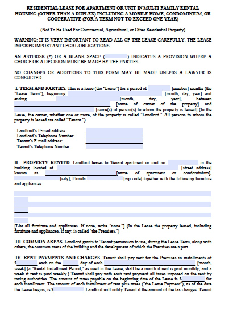 Mutli Family Version | Adobe PDF | Microsoft Word  Microsoft Word Rental Agreement