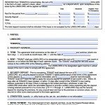 Free Utah Standard Residential Lease Agreement Template
